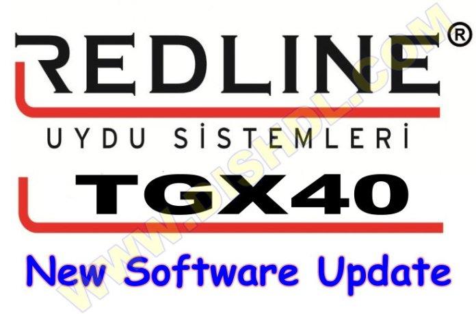 REDLINE TGX40 RECEIVER SOFTWARE UPDATE