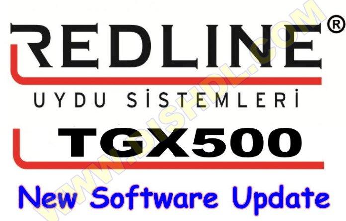 REDLINE TGX500 RECEIVER SOFTWARE UPDATE