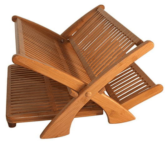 best bamboo dish rack