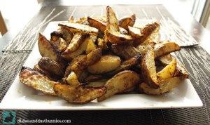Baked Pub Style Potato Wedges