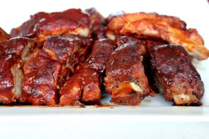 Mouth Watering Saucy Pork Ribs