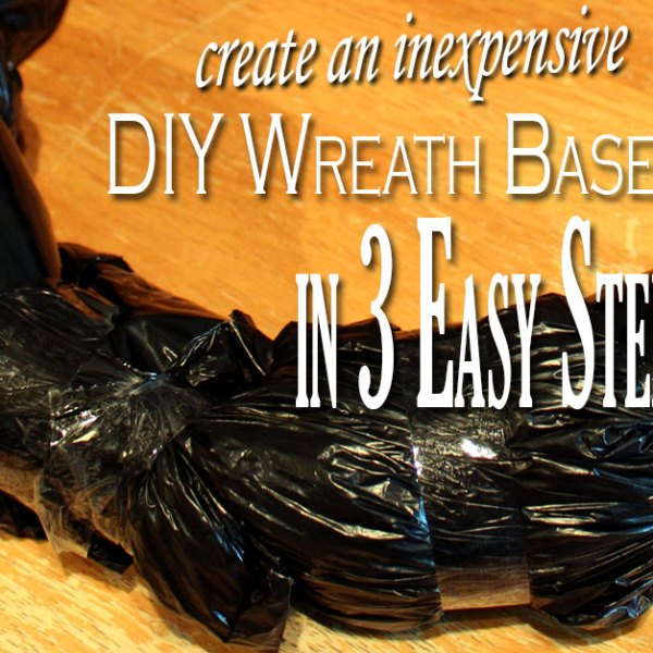 Create an Inexpensive DIY Wreath Base in 3 Easy Steps