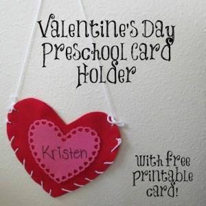 Valentine's Day Preschool Card Holder Craft - Long Island Parent Source