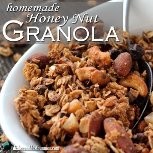 Homemade Honey Nut Granola Recipe
