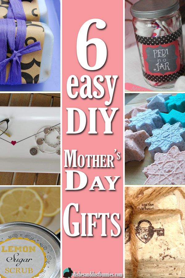 6 Easy DIY Mother's Day Gifts