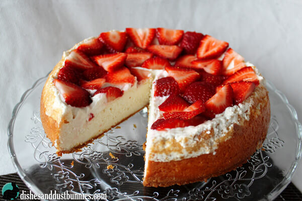 Strawberry Cheesecake from Dishes & Dust Bunnies