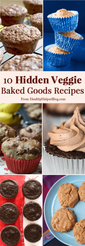 10 Hidden Veggie Baked Goods Recipes