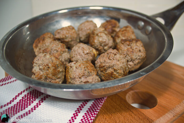 The Perfect Basic Meatball Recipe from dishesanddustbunnies.com