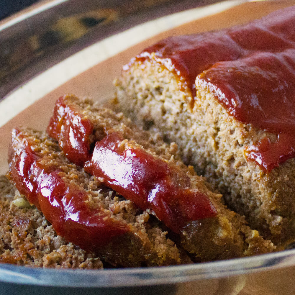 Classic Meat Loaf from Dishes & Dust Bunnies