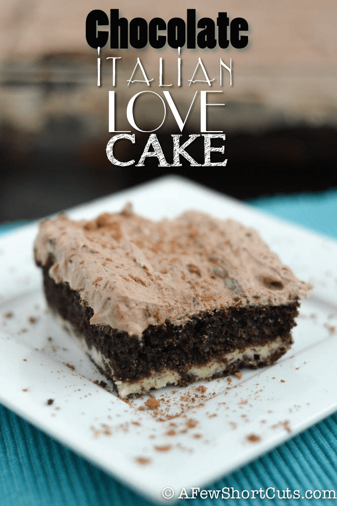 Chocolate Italian Love Cake from A Few Short Cuts