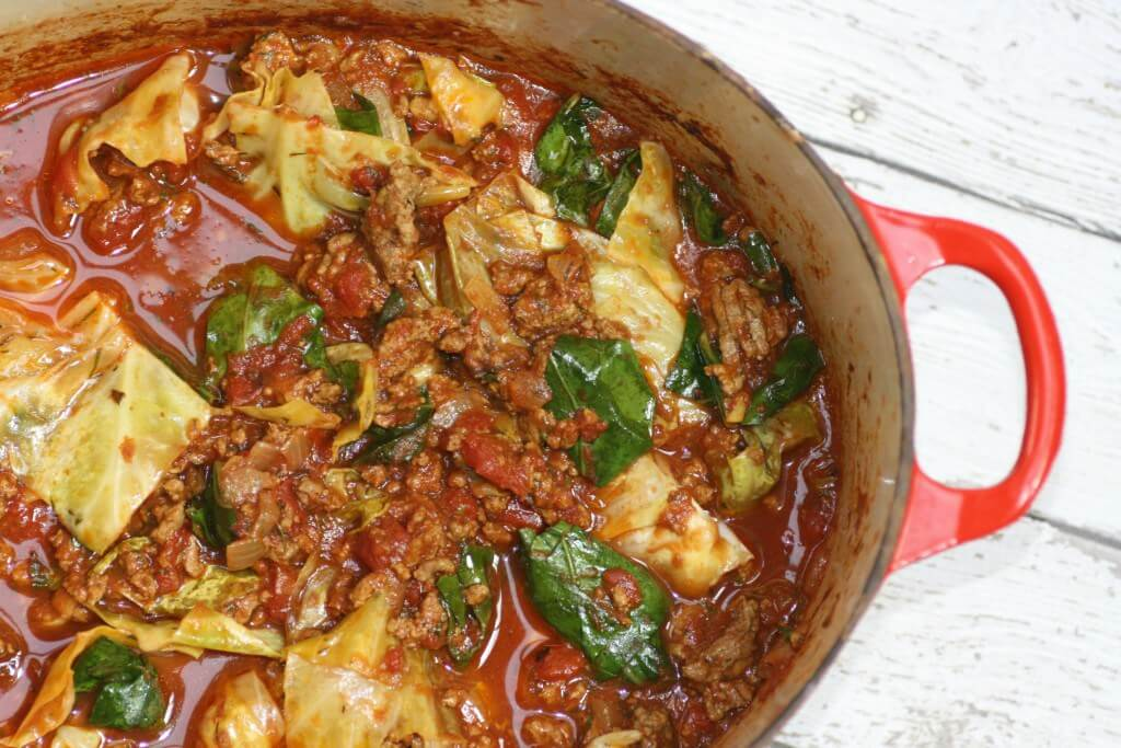 Unstuffed Cabbage from Kitchen of Youth