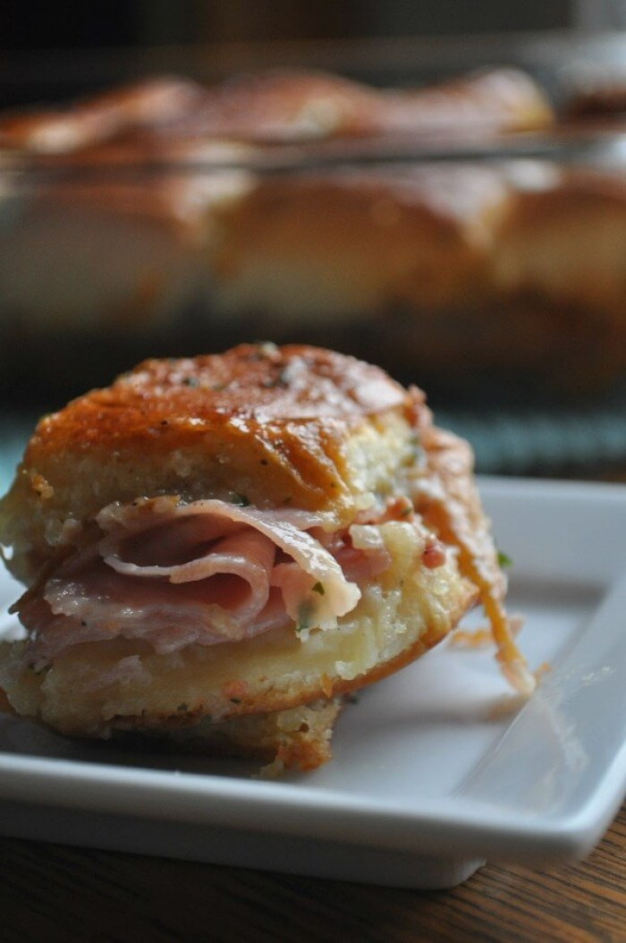 Baked Ham Sandwiches from Dining with Alice