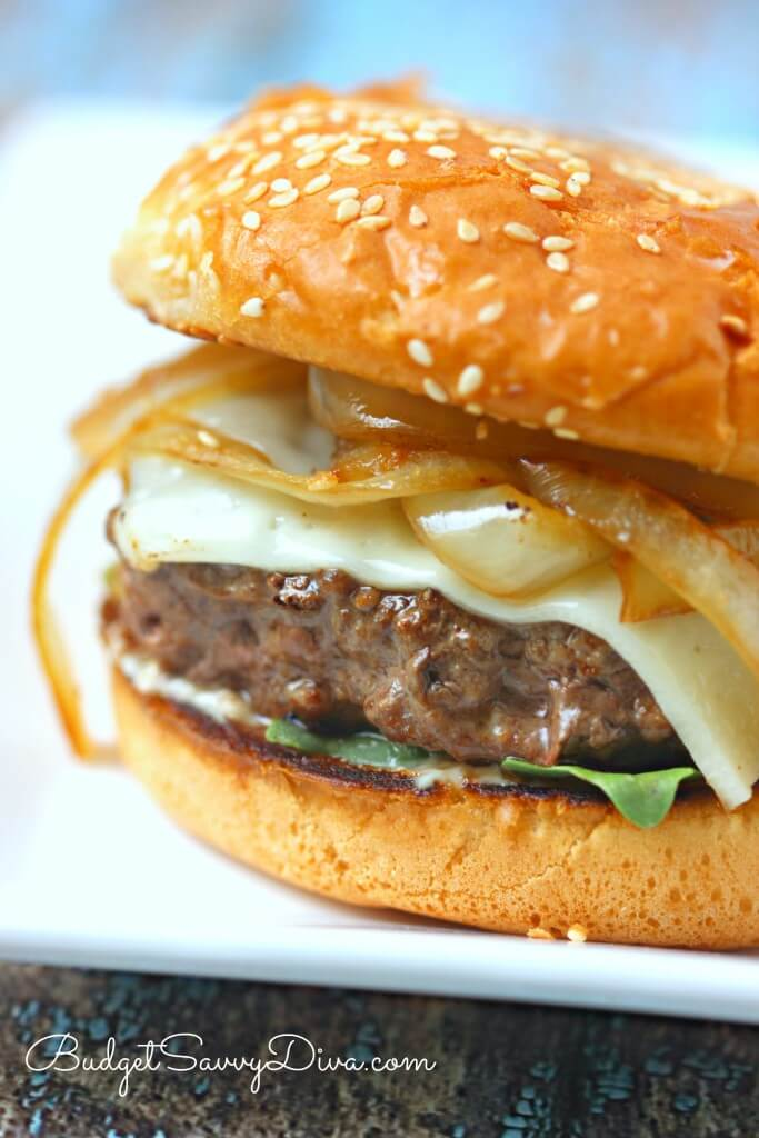 The BEST Burger Ever Recipe from Budget Savvy Diva