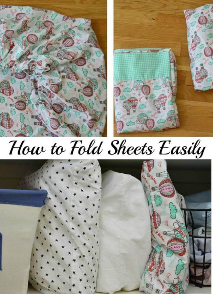 How to Fold Bed Sheets from Organized 31
