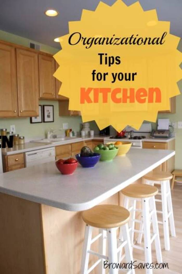 Organizational Tips for Your Kitchen from Living Sweet Moments