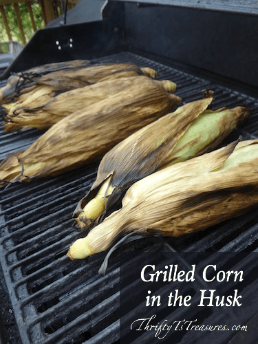 Grilled Corn on the Husk from Thrifty T's Treasures