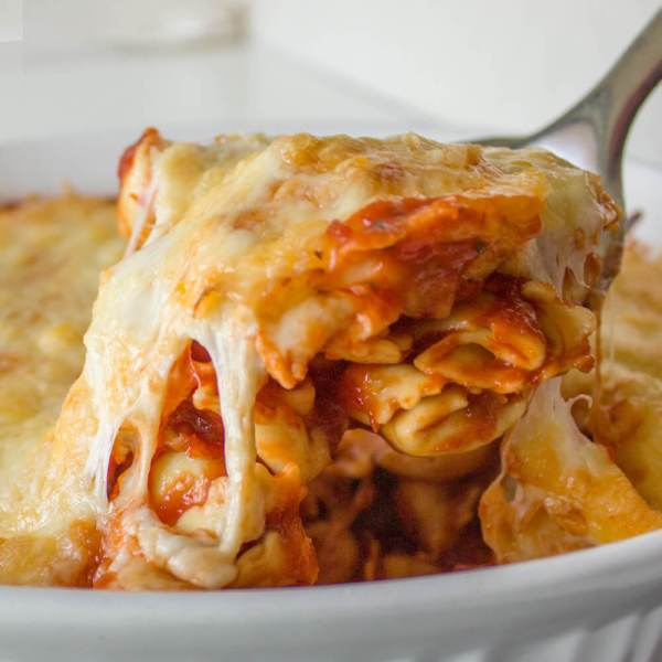 Baked 3 Cheese Tortellini – So Easy and Perfect for Busy Days!