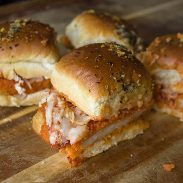 Baked Chicken Parmesan Sliders – So Easy & Delicious!