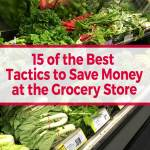 15 of the Best Tactics to Save Money at the Grocery Store