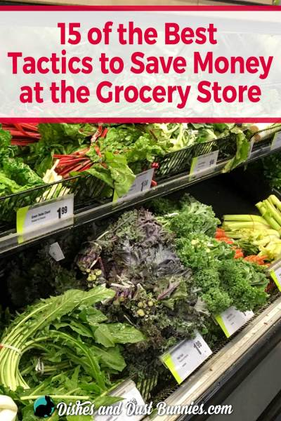 15 of the Best Tactics to Save Money at the Grocery Store from dishesanddustbunnies.com