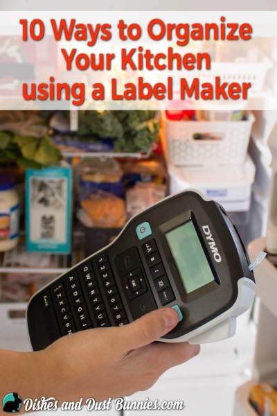 10 Ways to Organize Your Kitchen with the DYMO® LabelManager™ 160P Label Maker
