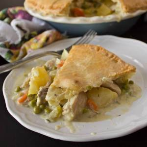 The Best Old Fashioned Chicken Pot Pie Ever! from dishesanddustbunnies.com