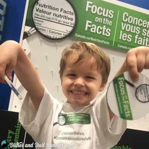 #FocusOnThFacts Nutrition Information with dishesanddustbunnies.com