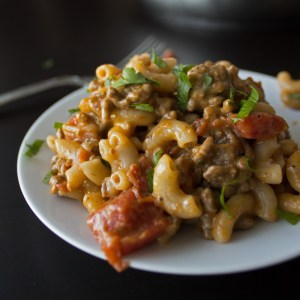 Cheeseburger Macaroni - Homemade Hamburger Helper Copycat Recipe