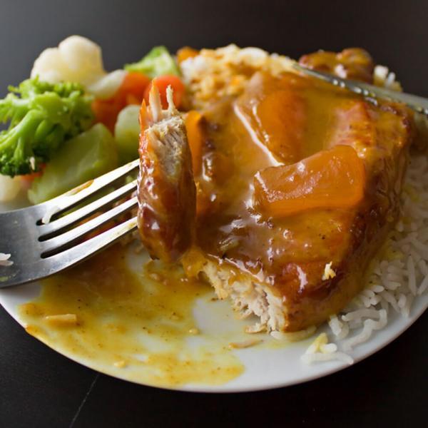 Mango Chutney Pork Chops