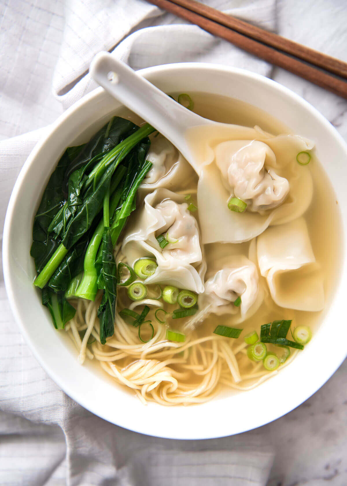 Won Ton Soup from Recipe Tin Eats