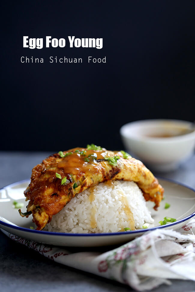 Egg Foo Young from China Sichuan Food