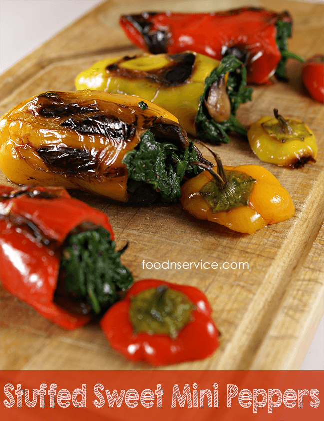 Vegetarian Stuffed Sweet Peppers from Foodnservice