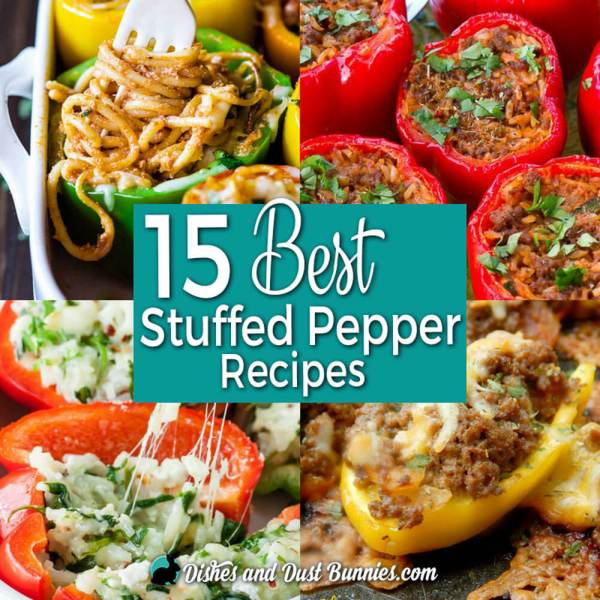 15 Best Stuffed Pepper Recipes