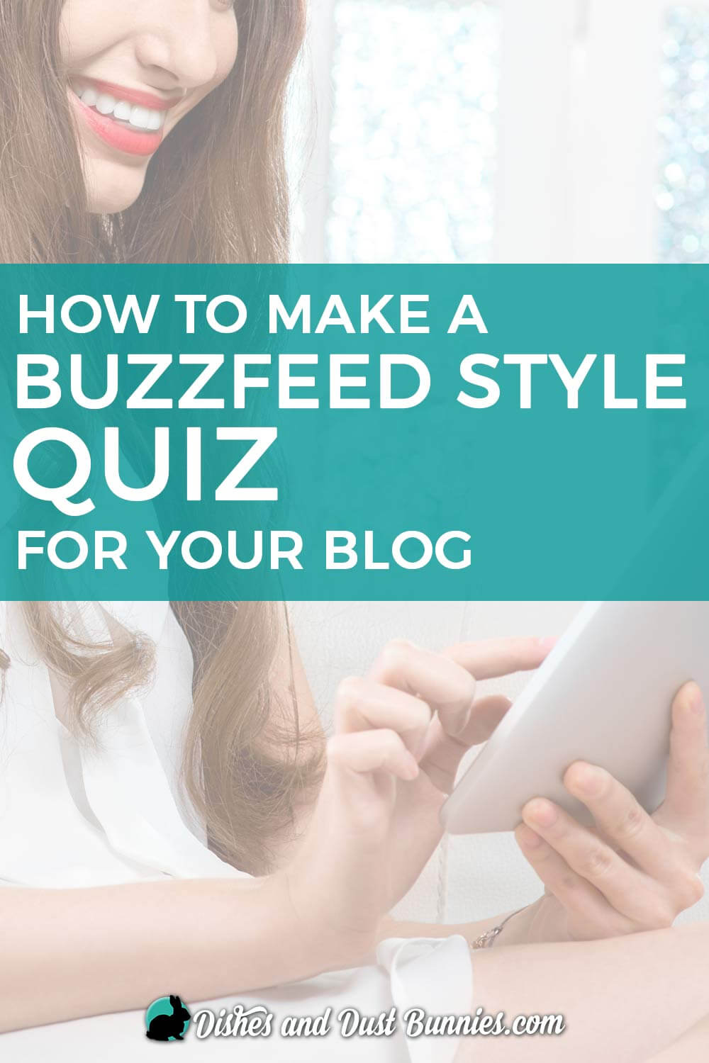 How to make a Buzzfeed Style Quiz for your Blog - from dishesanddustbunnies.com