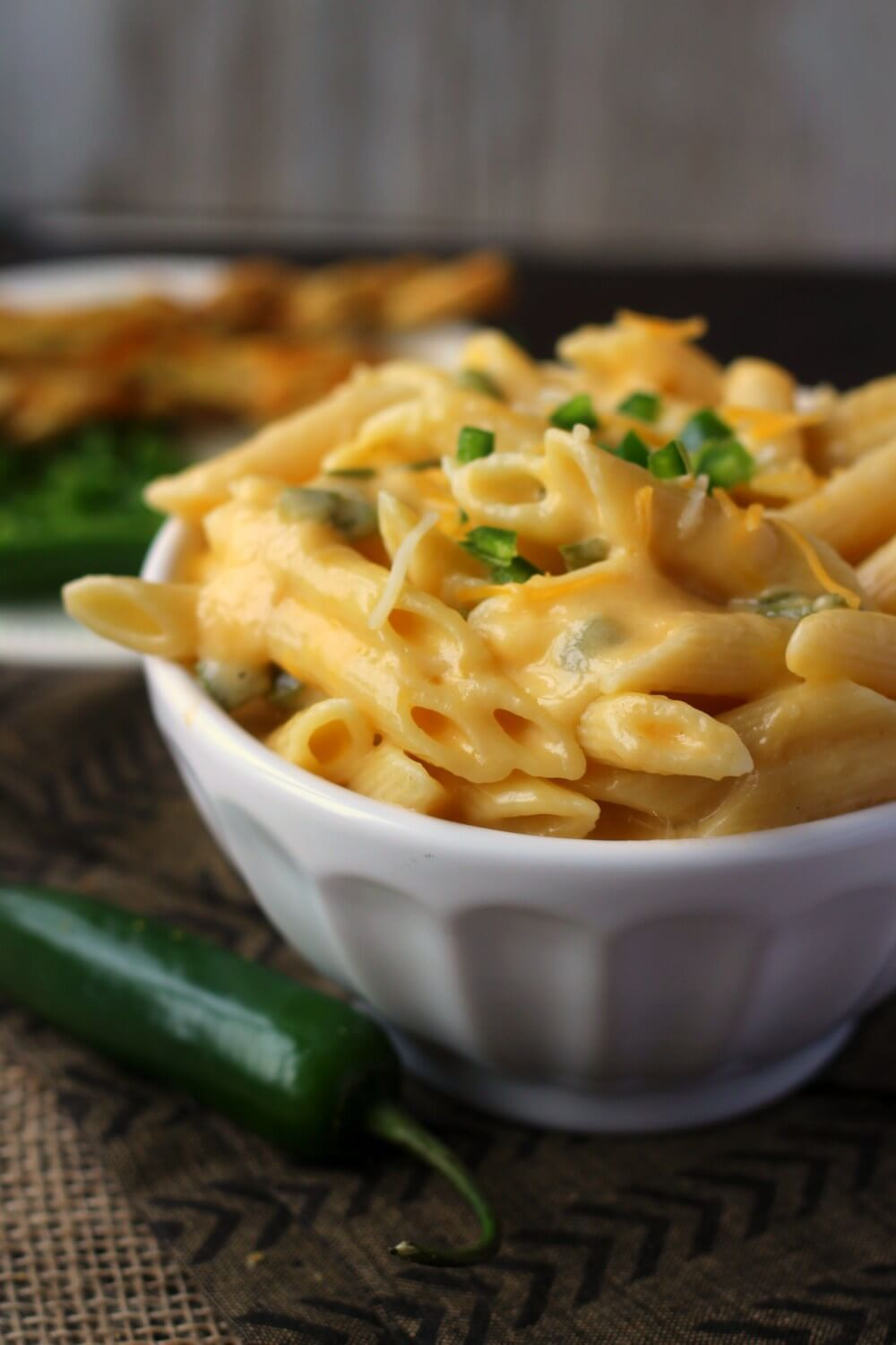 Jalapeno Mac and Cheese: 10 Minute Pressure Cooker Recipe from ABCs & Garden Peas