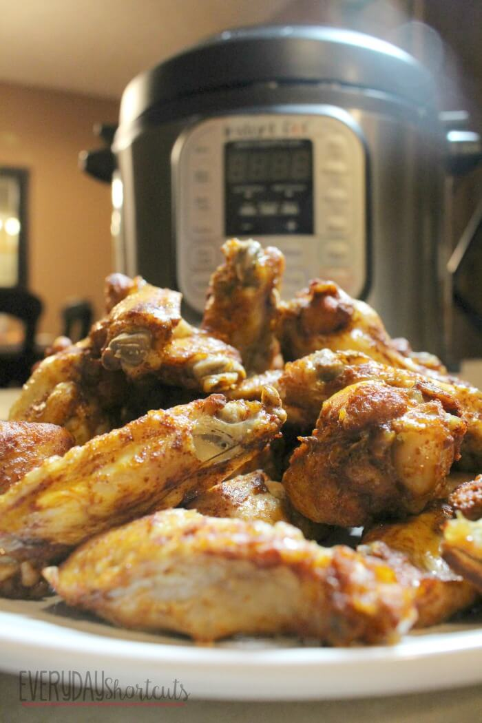 Instant Pot BBQ Chicken Wings from Everyday Shortcuts