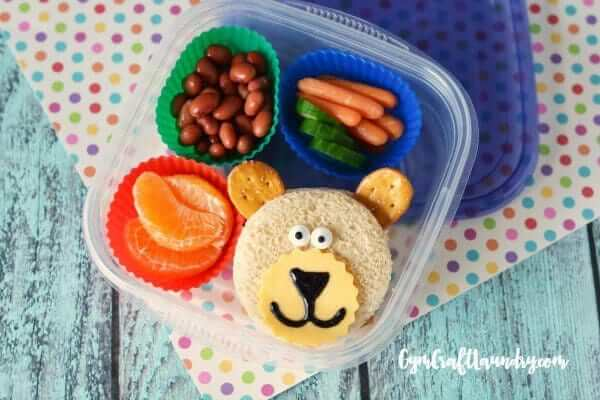 Bento Box Bear: Healthy School Lunch from Gym Craft Laundry