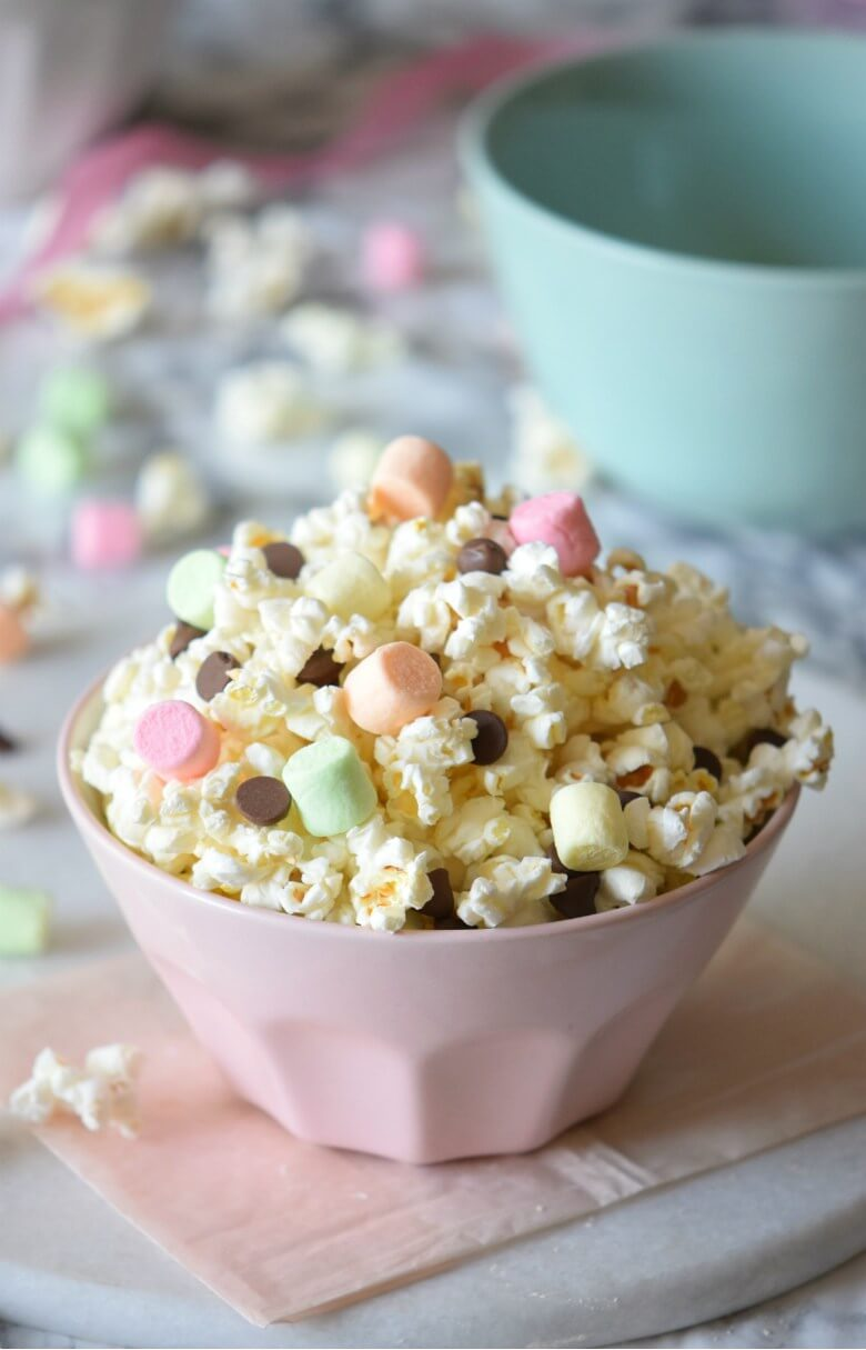 Unicorn Smore Popcorn Mix from Carmela POP