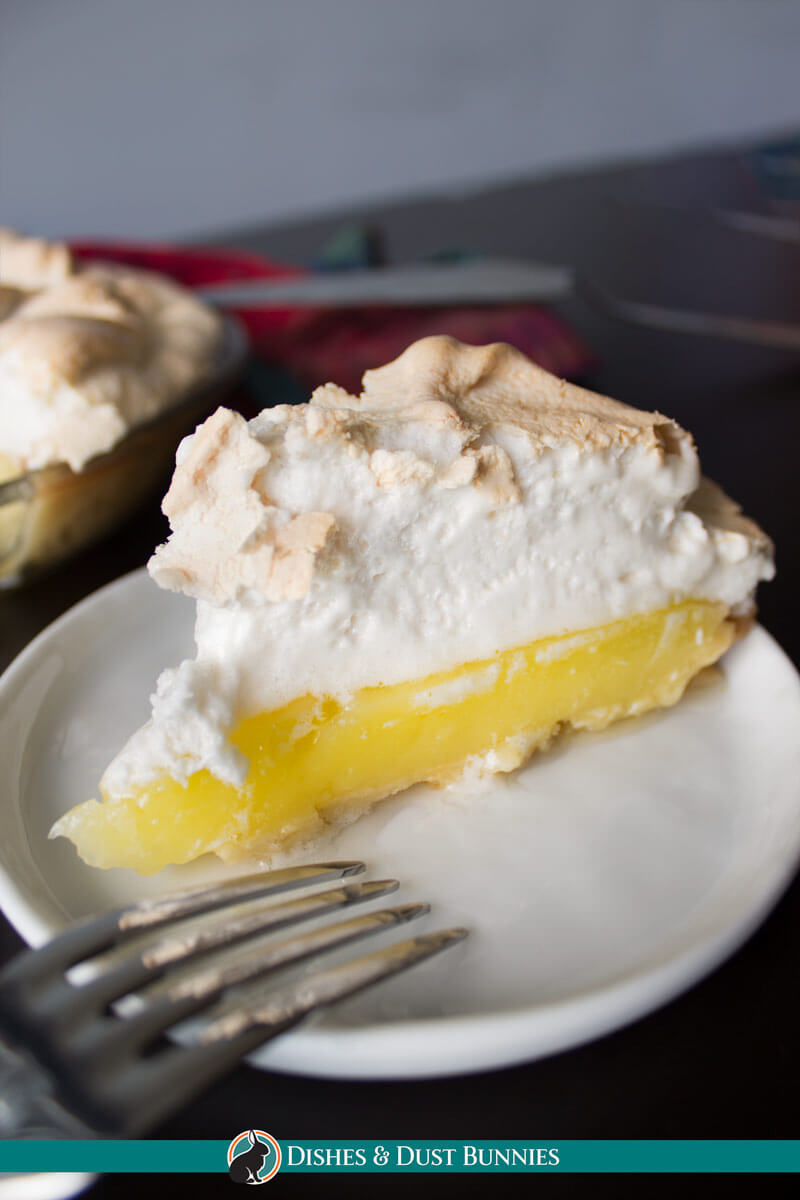 Classic Lemon Meringue Pie from dishesanddustbunnies.com
