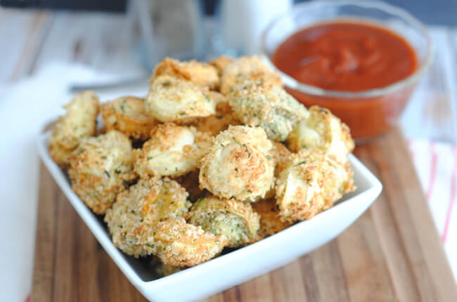 Baked Tortellini Bites from Craft Create Cook