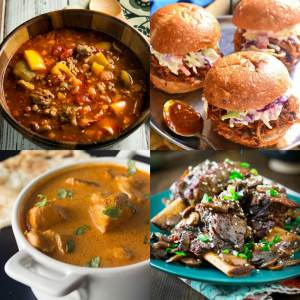 30 Delicious Slow Cooker Recipes