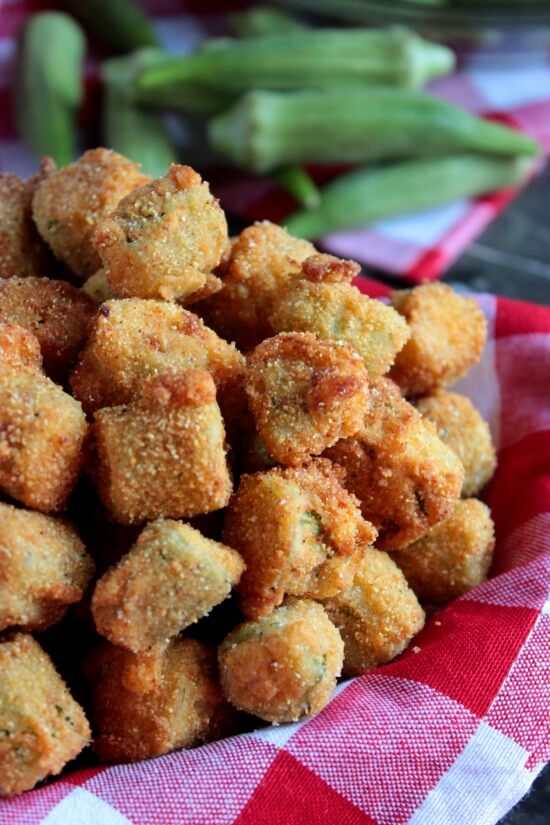 Southern Fried Okra from Big Bear's Wife