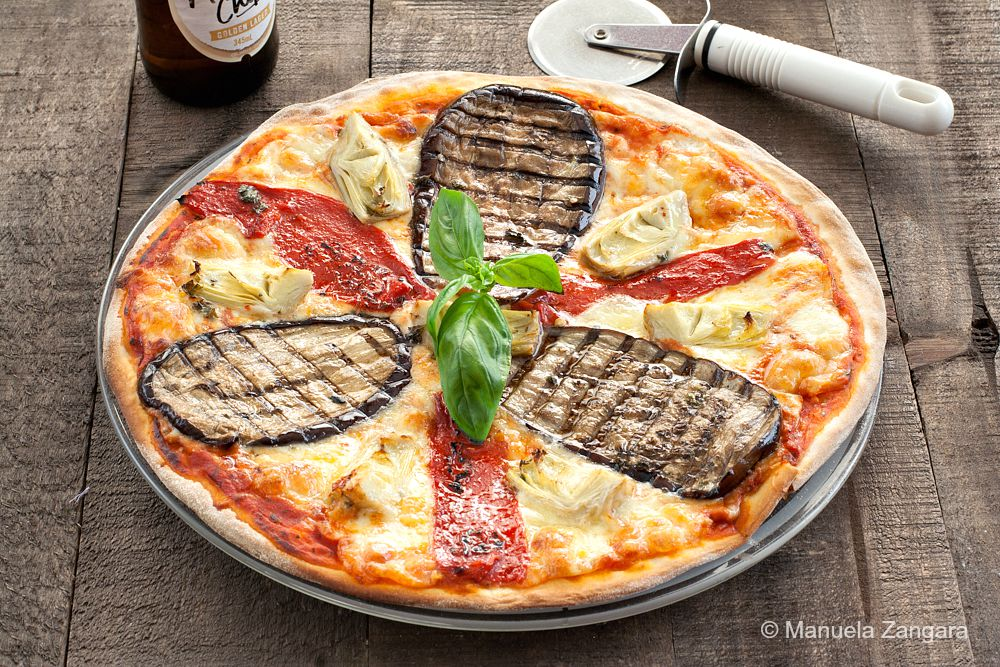 Pizza Ortolana from Manu's Menu