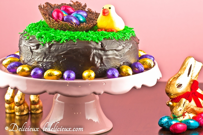 Chocolate Easter Cake from Delicious Everyday