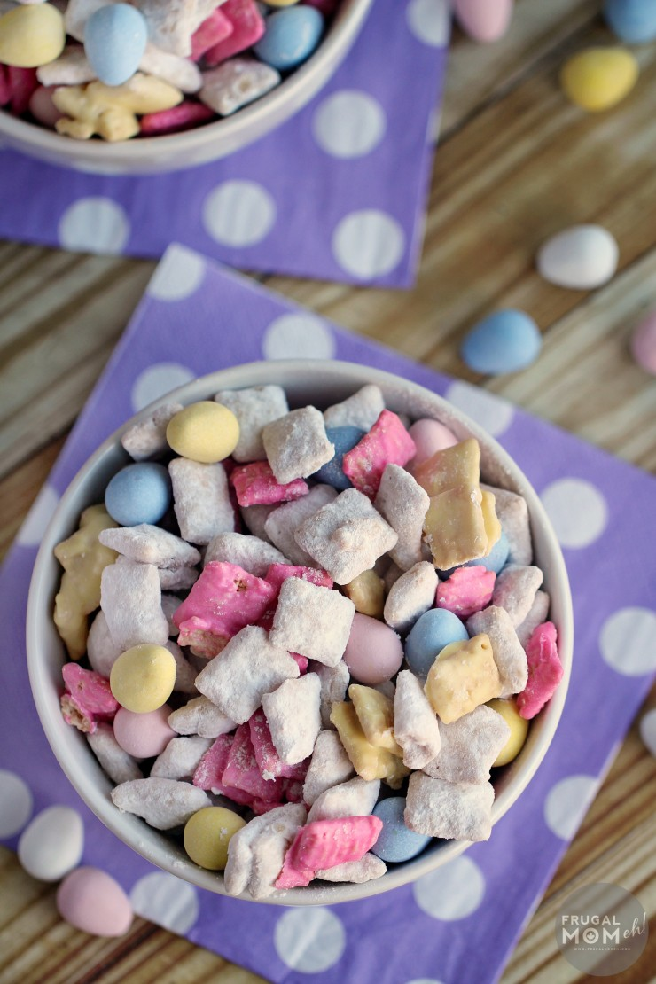 Easter Muddy Buddies from Frugal Momeh!
