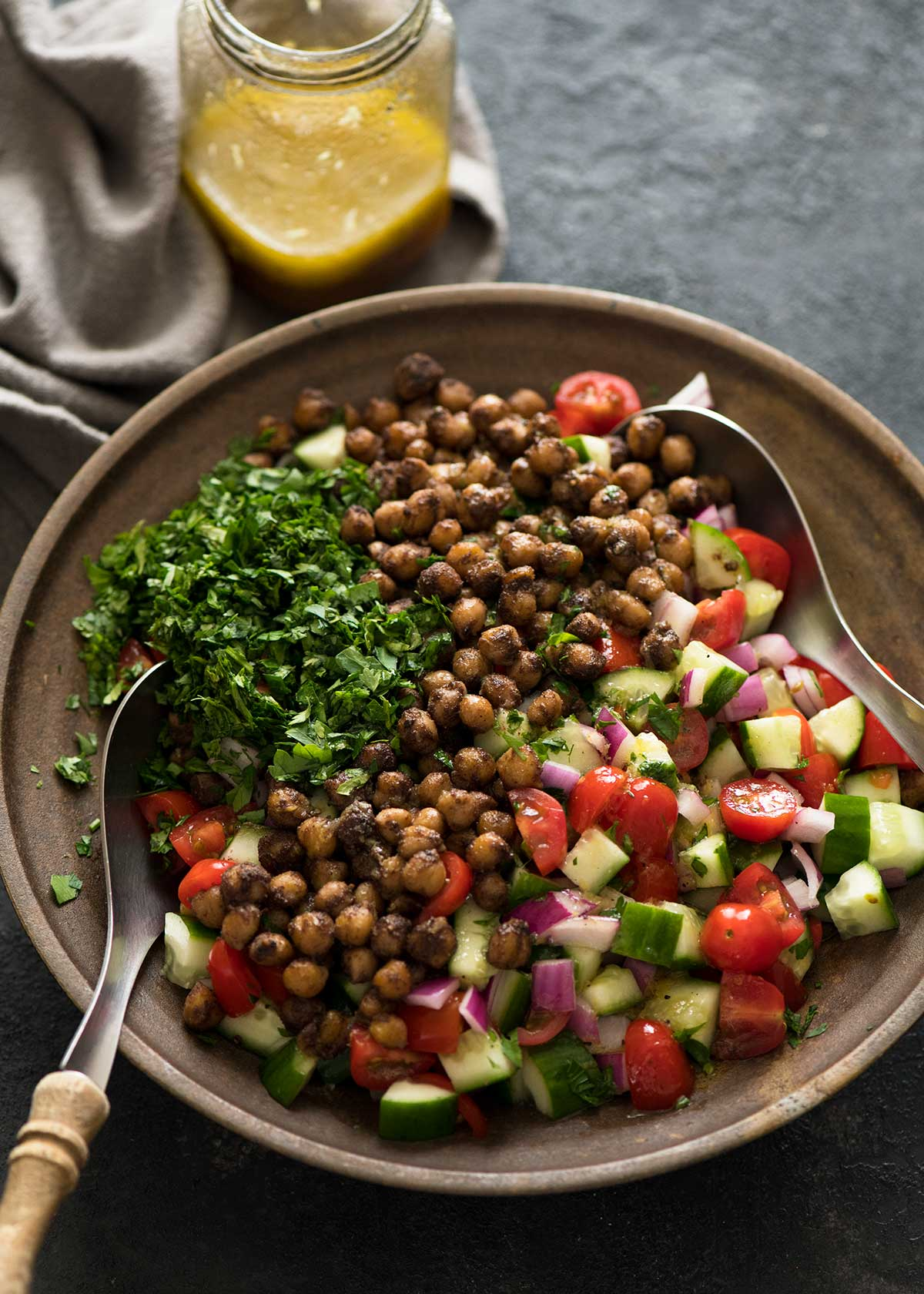 Middle Eastern Chickpea Salad from RecipeTin Eats