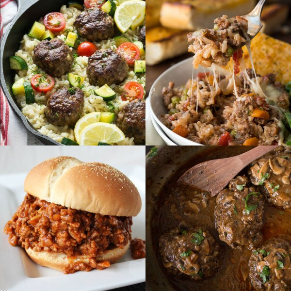 25+ Awesome Ground Beef Recipes