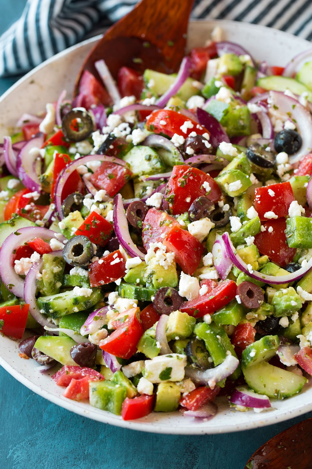Greek Salad from Cooking Classy