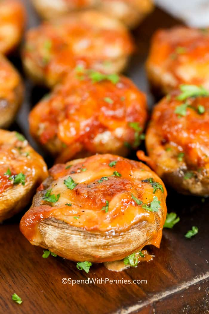 Easy Stuffed Mushrooms from Spend with Pennies