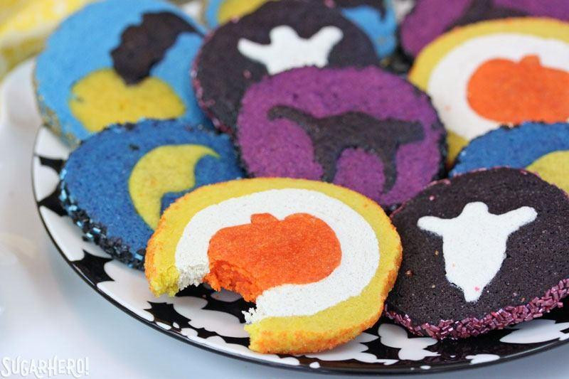 Slice and Bake Halloween Cookies from Sugar Hero!